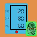 Blood Pressure Tracker : BP Checker Log : BP Info icon
