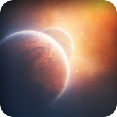 Space live wallpaper 3D