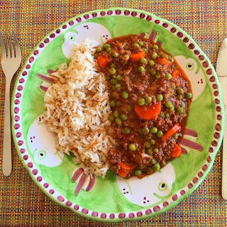 Lebanese Green Peas with Rice