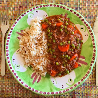 Lebanese Green Peas with Rice.