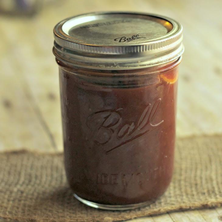 Homemade Hickory BBQ Sauce