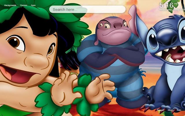 Lilo And Stitch HD Wallpaper&Themes