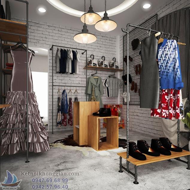 thiết kế shop thời trang đẹp nhất thợ nhuộm