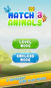 Match 3 Animals - náhled