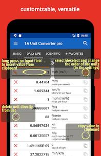 1A Unit Converter pro MOD (Paid) 3