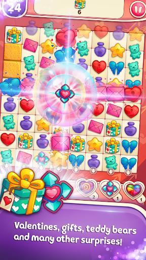 Sweet Hearts - Cute Candy Match 3 Puzzle  screenshots 2