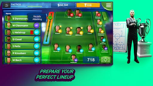 Pro 11 - Football Management Game apktreat screenshots 2