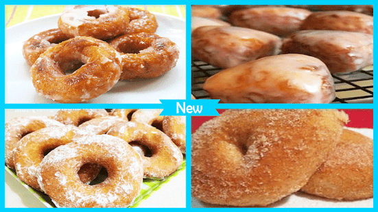 Yummy Potato Doughnuts Recipe - náhled