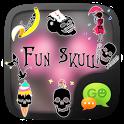 (FREE) GO SMS FUNSKULL STICKER icon