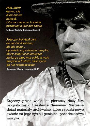 Tył ulotki filmu 'Sen O Warszawie'