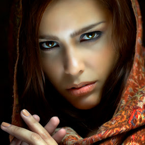 the look by Jake Daw - People Portraits of Women ( look, stare, women, captivating, portrait, impact, eyes, emotion )
