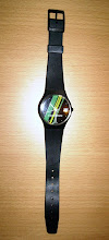 Photo: A l'heure de la Chartreuse ! C'est étonnant, sur cette montre, les bandes jaunes et vertes semblent indiquer un moment particulier de la journée... (merci à Rodolphe)