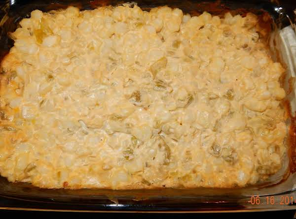 Cheesy Hominy Casserole Recipe