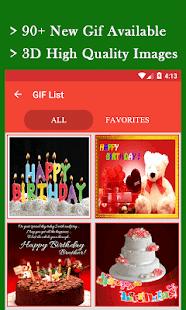 Birthday Gif - náhled