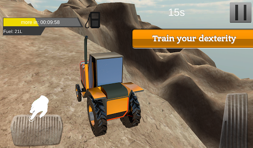 Farm Tractor Driving