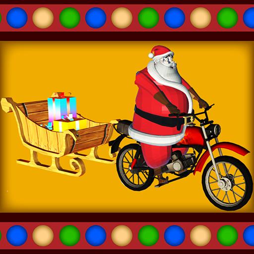 Santa Rider 冒險 LOGO-玩APPs