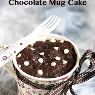 2 Mins Eggless Microwave Chocolate Mug Cake