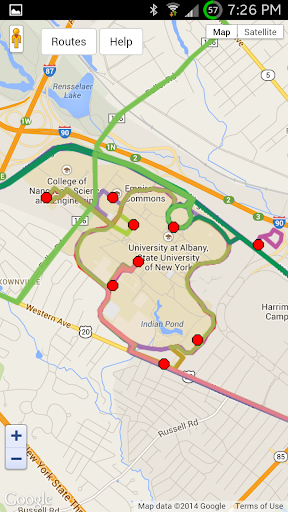 Ualbany Downtown Campus Map.Ualbany Campus Bus Schedules Apk Download Apkpure Co