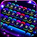 Twinkle Neon Keyboard Theme icon