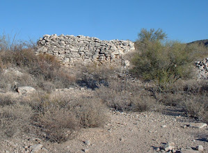 Photo: One of sixteen rooms of Hohokam ruins on Indian Mesa..... Robin Steinberg.