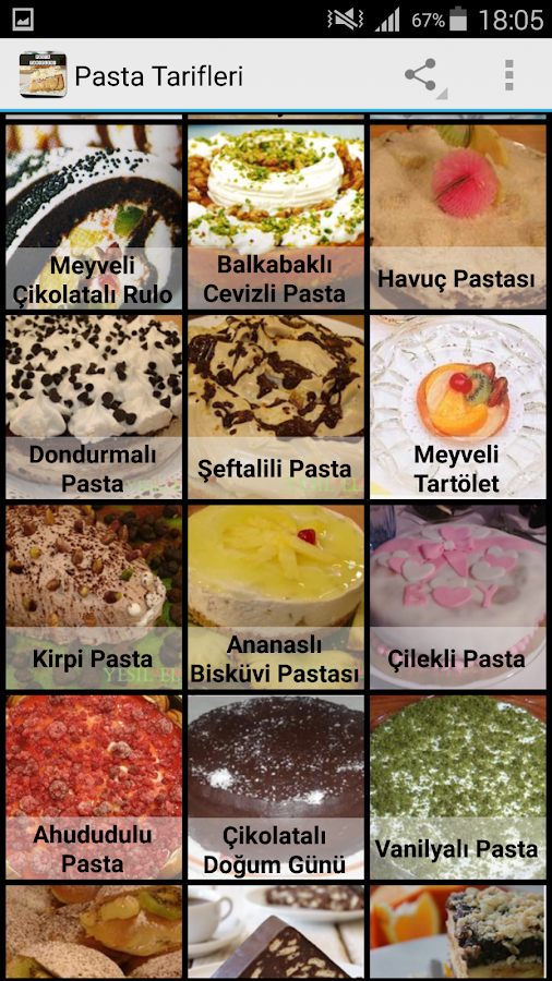 Pasta Tarifleri - Android Apps on Google Play