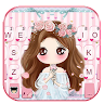 com.ikeyboard.theme.pink.floral.girl
