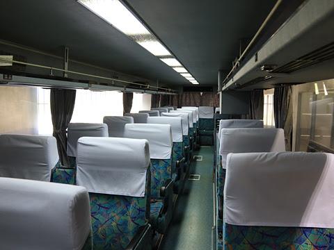 西鉄高速バス「桜島号」 9135 車内