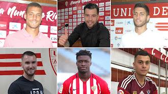 Los seis jugadores del Almería que deberán negociar para salir.