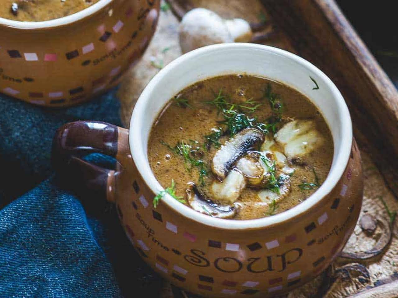 10 Best Mushroom Soup Without Cream Recipes Yummly