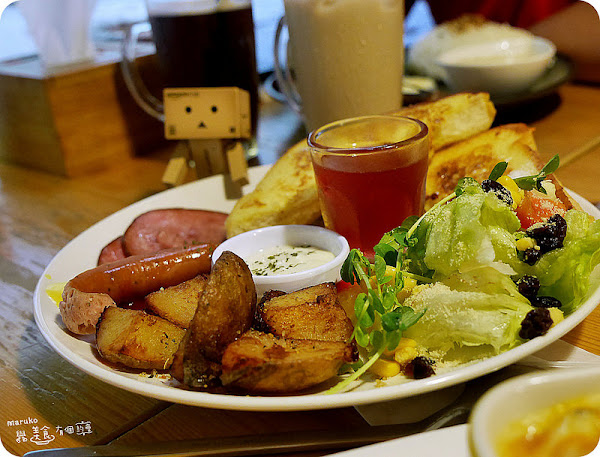 eating。全天候供應早午餐的溫暖小屋。新北市中和區