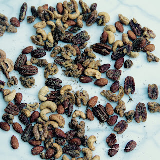Savory Rosemary and Spice Nuts