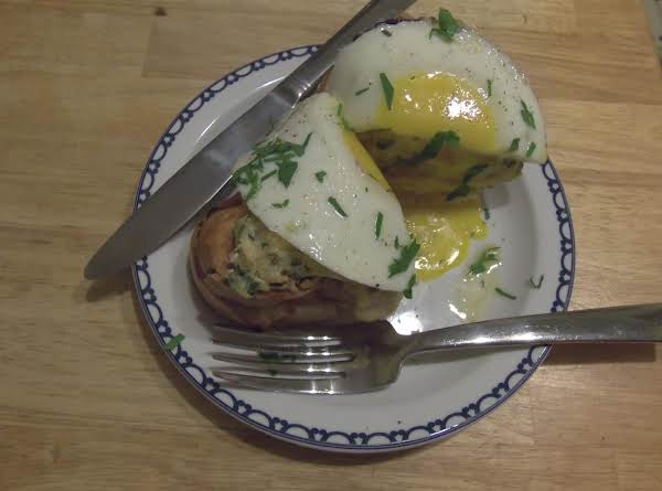 Croque Madame (ham And Cheese Sammie) Recipe
