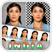 Indian Passport Size Photo Visa Pan OCI Aadhaar DL