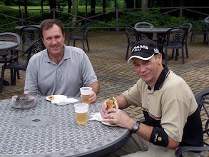 Photo: Frank Jefferies and Bob Kilpatrick