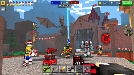 Pixel Gun 3D (Pocket Edition) v10.6.0 Mod Money + XP