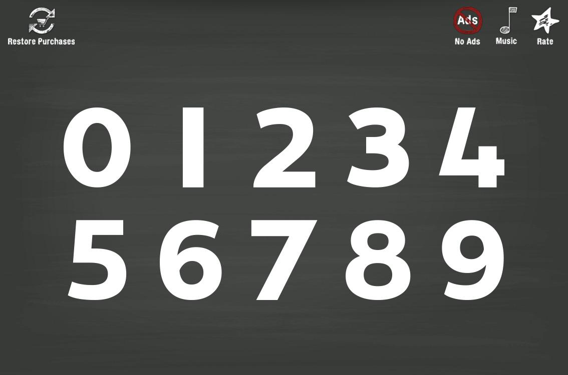 Trace Numbers • Kindergarten Kids Learning 123s- screenshot