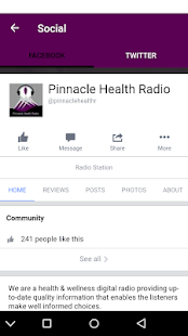 Pinnacle Health Radio App- screenshot thumbnail