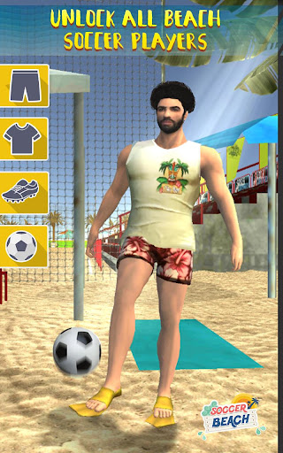 Free Kick Beach Football Games 2018 1.6 screenshots 3
