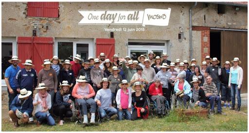 moswo journée teambuilding à L'Arche le Sénevé