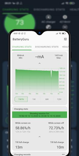Battery Guru - Battery Monitor - Battery Saver screenshot 4