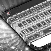 Silver Keyboard Theme