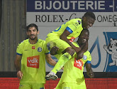 KAA Gent heeft deze avond met 0-1 gewonnen van Charleroi