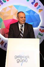 """Photo: Yeditepe Üniversitesi Rektörü Prof. Dr. Nurcan Baç """"Hoş geldiniz"""" konuşmasını yaparken www.gelecekgunu.org"""