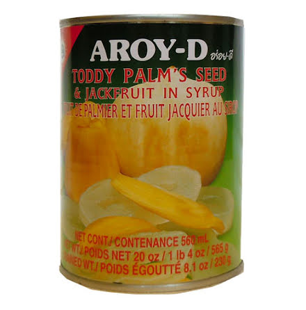Toddy Palm´s Seed & Jackfruit in syrup 565 g Aroy-D
