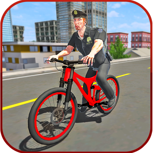 Police BMX Bicycle Crime Chase