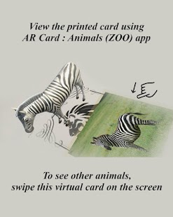 AR Card Animals PRO Screenshot