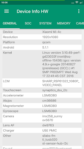 Device Info HW 4.23.3 screenshots 1