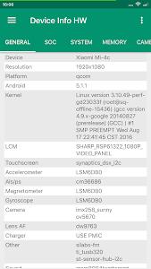 Device Info HW 4.27.1