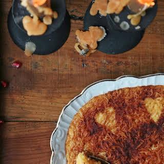 Noodles with Egg and Gila Cream Pie.