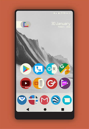 Olmo - Icon Pack Lietotnes par Android screenshot